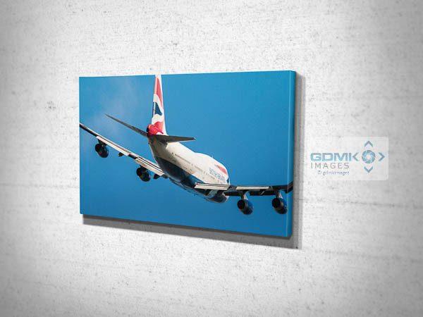 British Airways Boeing 747 Canvas Print