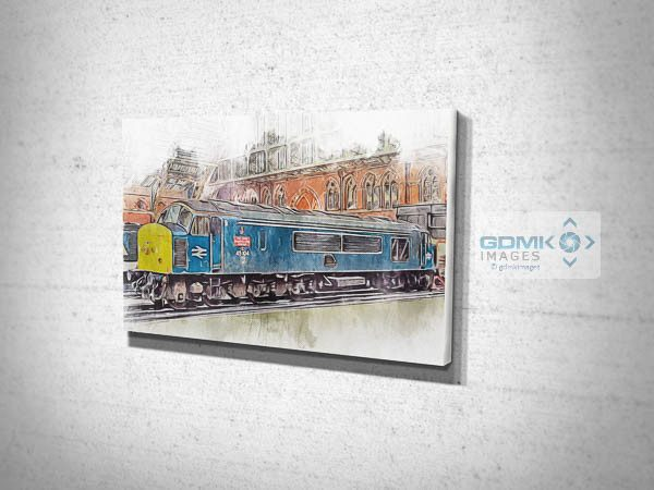 Class 45 Loco 45104 Canvas Print
