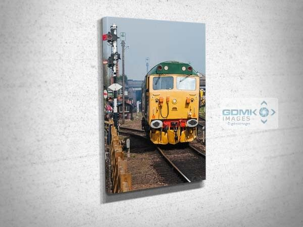 Class 50 50007 at Loughborough Canvas Print