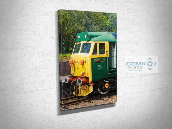 Class 50 50007 Cab Canvas Print