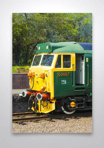 Class 50 50007 Cab Wall Art Print