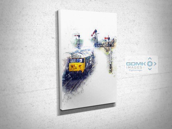 Class 50 50049 Digital Art Picture Canvas Print