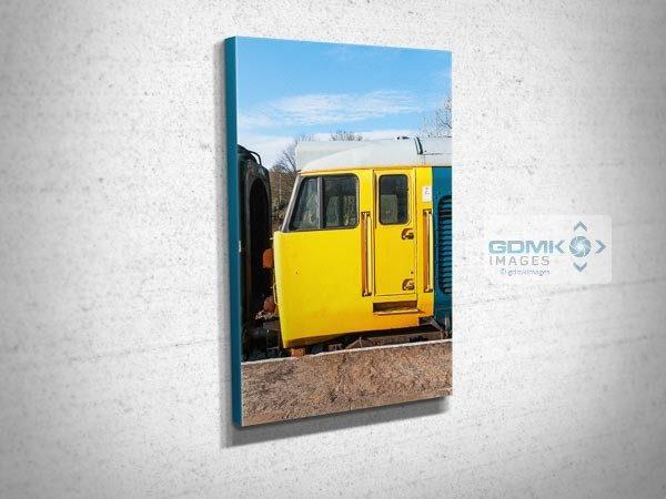 Class 50 Loco Cab Canvas Print