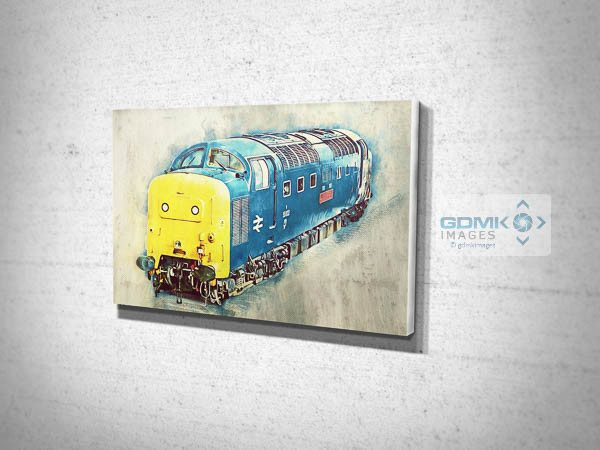 Class 55 55002 Digital Art Canvas Print