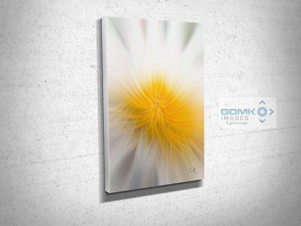 Conceptual Flower Digital Art Canvas Print