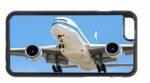Kuwait Airways Boeing 777 Landing Mobile Phone Case