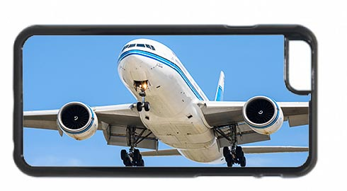 Kuwait Airways Boeing 777 Landing Mobile Phone Case