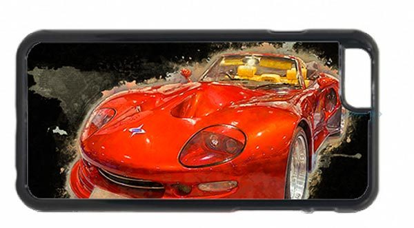 Red Marcos Mantis Car Digital Art Picture Mobile Phone Case