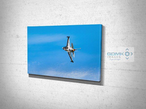 RNLAF F16 Performance Takeoff Canvas Print