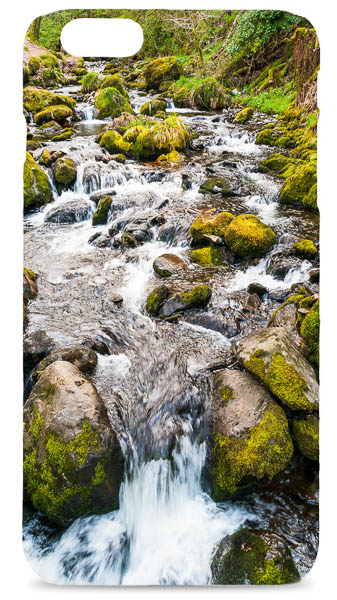 Rocky Stream in Snowdonia Mobile Phone Case