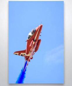 Up Close to A Red Arrow Wall Art Print