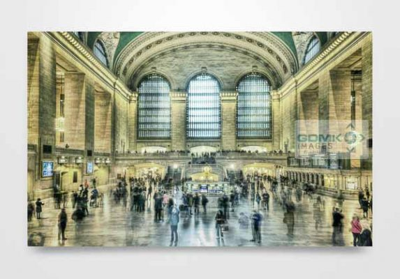 New York Grand Central Station Wall Art Print
