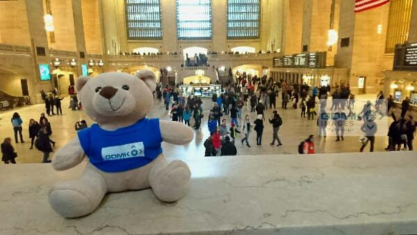 Ted thinks Grand Central Station is REALLY grand