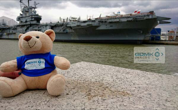 Ted before his disappointing trip on the USS Intrepeid