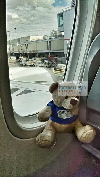 Ted all settled for his Norwegian Airlines Boeing 787 Dreamliner flight to New York