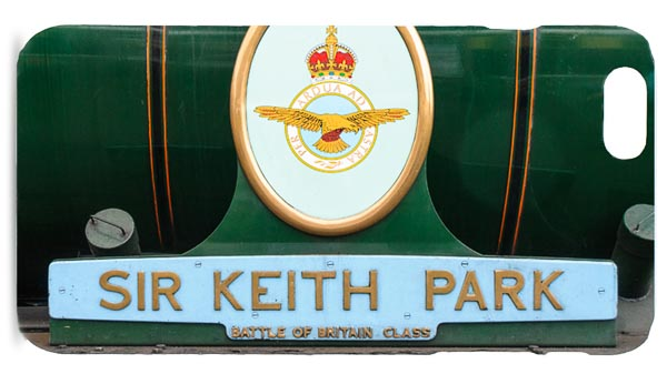 Sir Keith Park Nameplate Mobile Phone Case