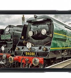 Bulleid Pacifics 34081 and 34053 Mobile Phone Case