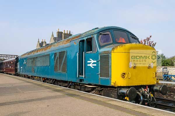 45041 on a Passenger Train