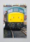 Class 45 45041 Front Wall Art Print
