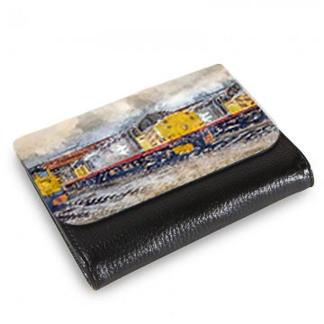 Class 37 on Thornaby Depot Digital Art Medium Wallet