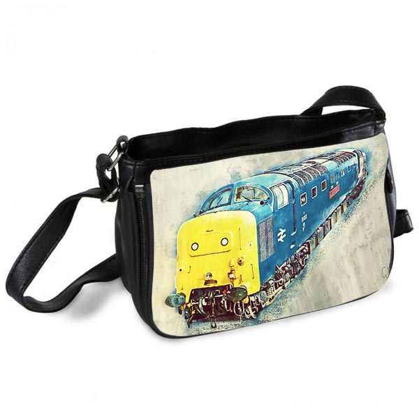 Deltic Class 55 55002 Digital Art Messenger Bag
