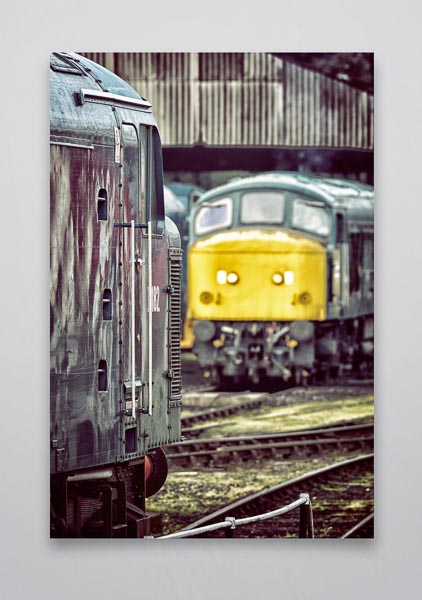 Class 46 and 45 Wall Art Print