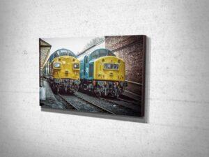 Railway Wall Art