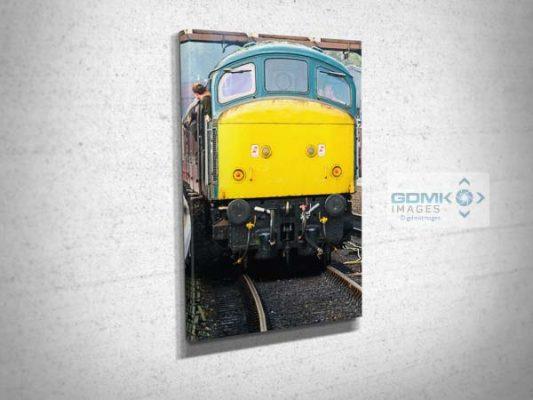 Class 45 45041 Front Canvas Print