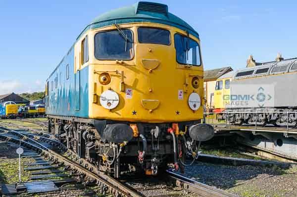Class 26 loco 26007