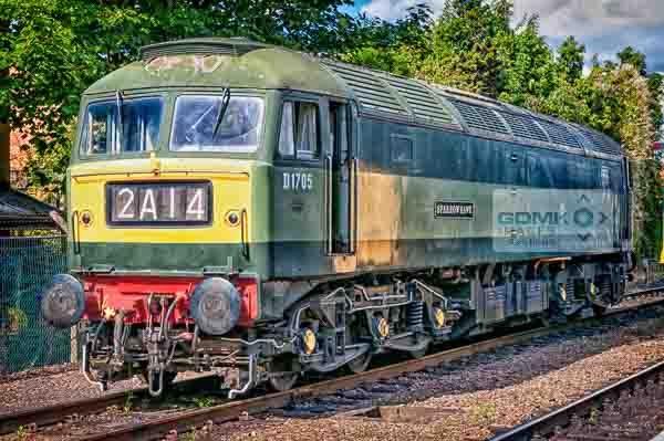 Class 47 D1705 Sparrowhawk