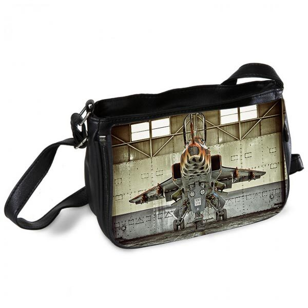 Jaguar XX119 Head on Messenger Bag