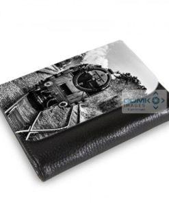 Medium Wallet Black and White 9F