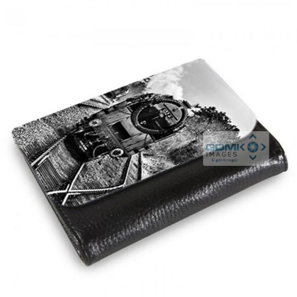 Medium Wallet Black and White 9F