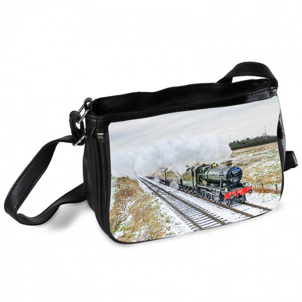 Black and White Hall Class 4-6-0 Witherslack Hall Messenger Bag-2