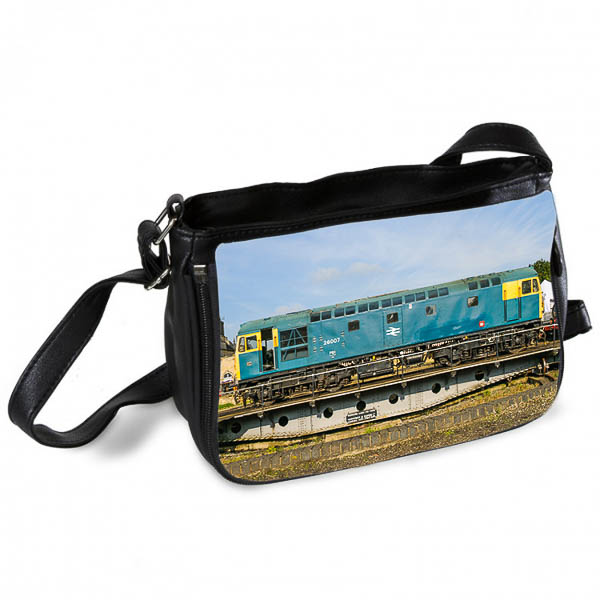 Class 26 26007 loco on a Turntable Messenger Bag
