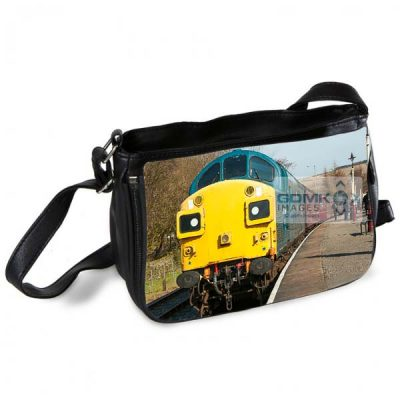 Class 37 37109 at Rawtenstall Station Messenger Bag