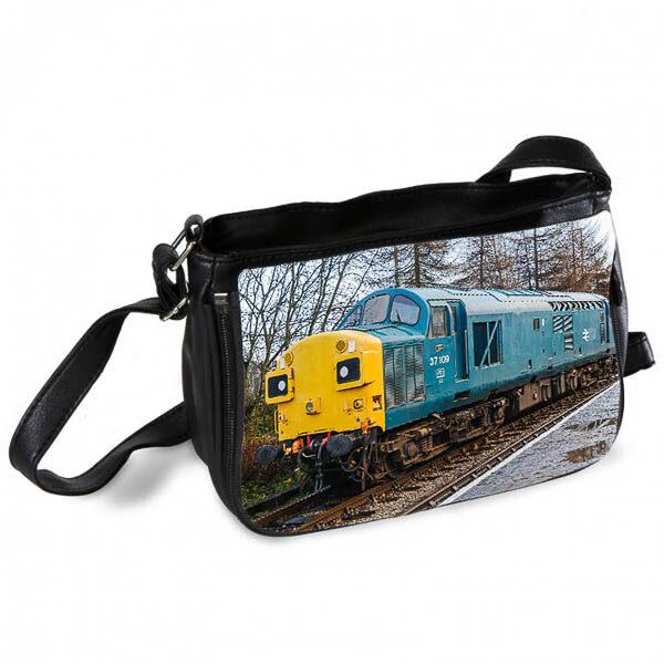 Class 37 37109 at Rawtenstall Messenger Bag