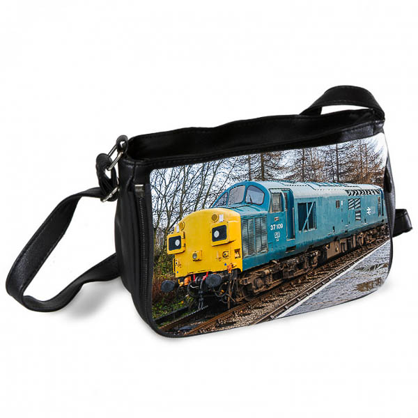 Class 37 37109 at Rawtenstall Messenger Bag