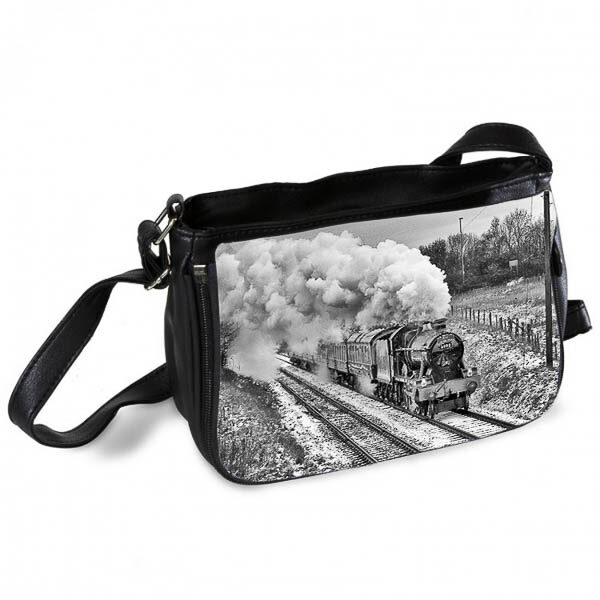 Black and White Hall Class 4-6-0 Witherslack Hall Messenger Bag