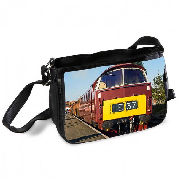 Class 52 Western loco D1062 at Kidderminster Messenger Bag