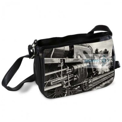 Black and White Class 9F Messenger Bag