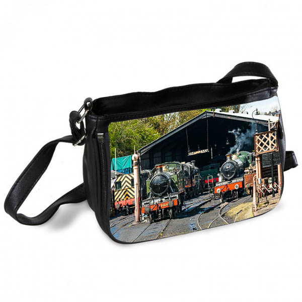 GWR Steam locos on Shed Messenger Bag