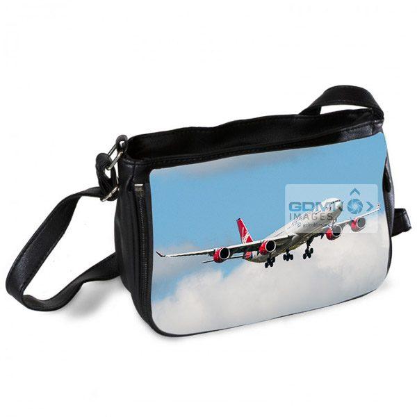 Virgin Atlantic Airbus A340 Messenger Bag