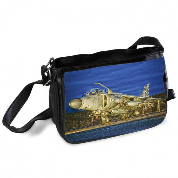 Sea Harrier at Dusk Messenger Bag