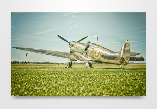 Spitfire Mk1 Wall Art Print