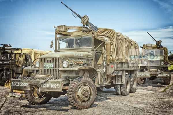 US Army WW2 GMC CCKW Truck