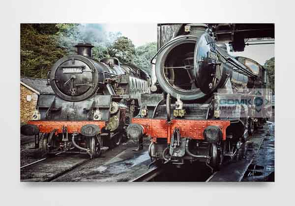 61264 and 80136 Wall Art Print