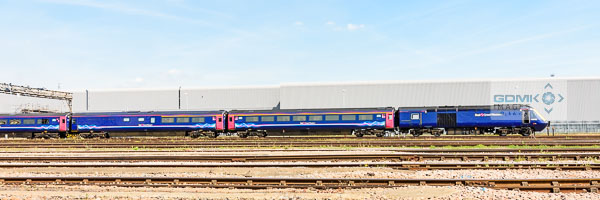First Great Western Class 43 HST on Old Oak Common depot