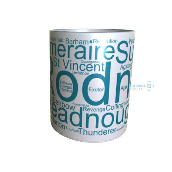 50021 Rodney Word Art Mug