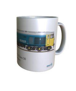 Class 50 50021 Rodney Mug